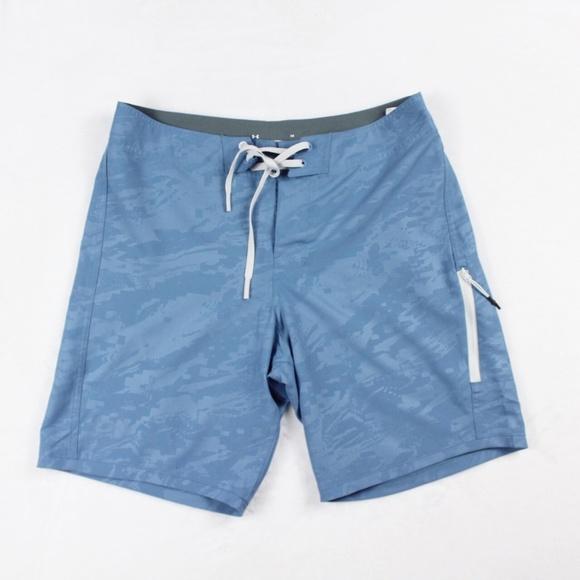 7e608cb692 Under Armour Swim   Mens Shorebreak Board Shorts Blue 34   Poshmark
